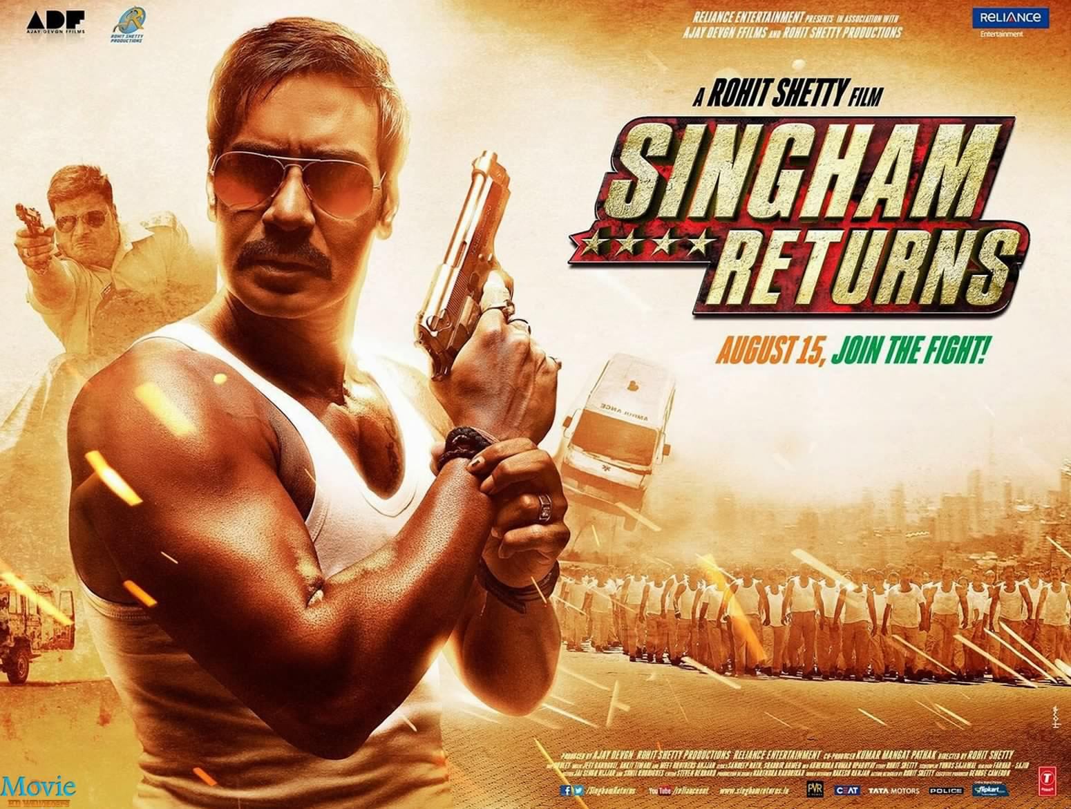 Singham Returns All Time Records
