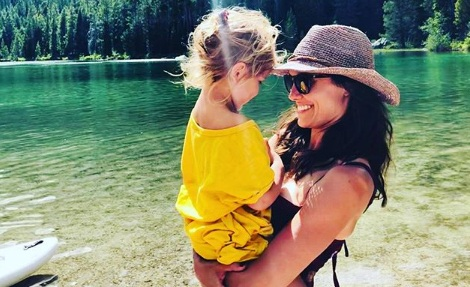 Daniela Ruah had a lovely time along with her New Weekend Pictures Of Daniela Ruah With Family