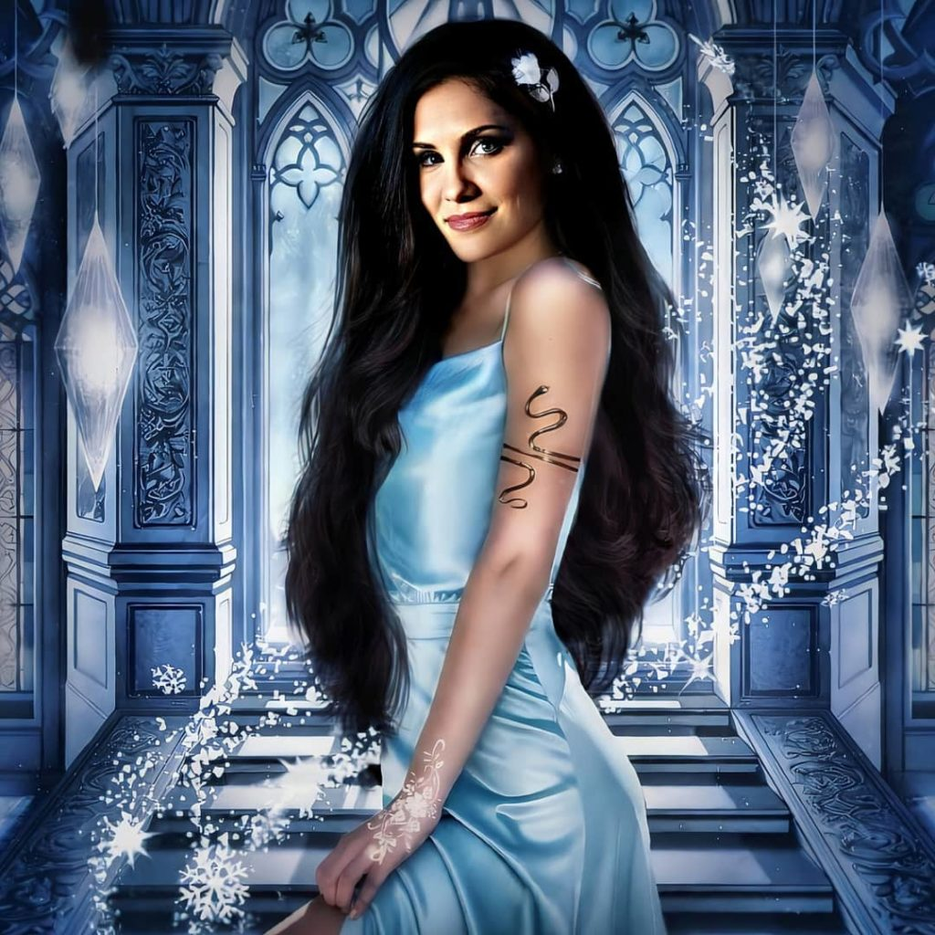Painting Pictures Of Daniela Ruah