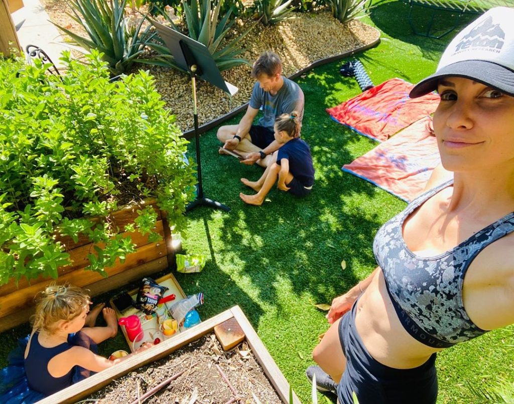 Daniela Ruah Latest Activity With Her Kids