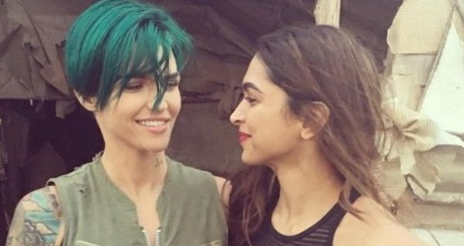 Ruby Rose Supports Deepika Padukone