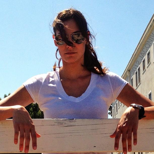 NCIS Los Angeles Cast Daniela Ruah Candid Images