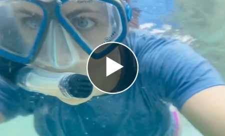 Exclusive New Underwater Thrilling Video Of Alexandra Daddario