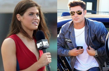 Alexandra Daddario Once Again Dismisses Relationship Rumor With Zac Efron