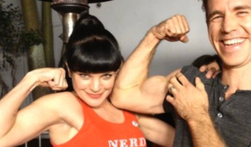 Unrevealed Funny Pictures Of Pauley Perrette